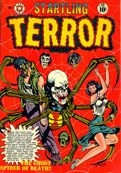 Cover for Startling Terror Tales (Star Publications, 1952 series) #11