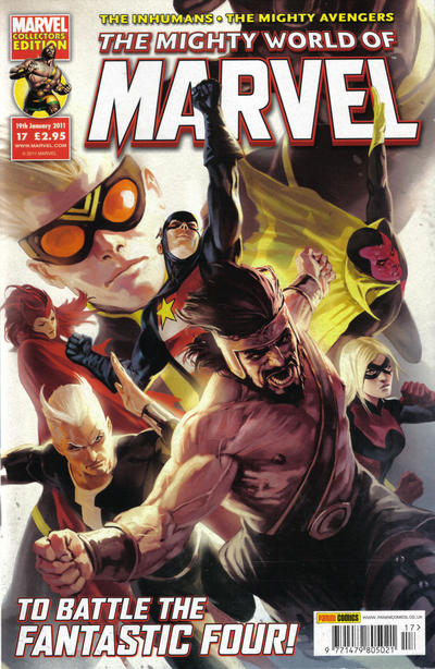Cover for The Mighty World of Marvel (Panini UK, 2009 series) #17