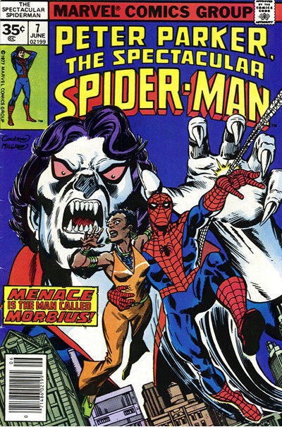 Cover for The Spectacular Spider-Man (Marvel, 1976 series) #7