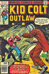 Cover for Kid Colt Outlaw (Marvel, 1949 series) #219 [35 cent cover price variant]