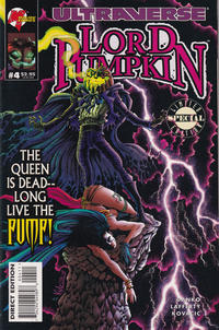 Cover Thumbnail for Lord Pumpkin / Necromantra (Malibu, 1995 series) #4 [Lord Pumpkin Cover]