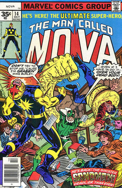 Cover for Nova (Marvel, 1976 series) #14 [30¢ edition]
