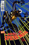 Cover for The Amazing Spider-Man (1999 series) #656 [Captain America Variant]