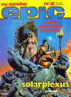 Cover for Epic (Semic, 1983 series) #2