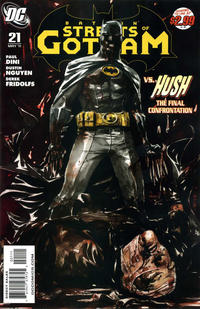 Cover Thumbnail for Batman: Streets of Gotham (DC, 2009 series) #21