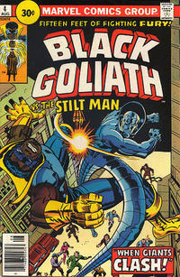 Cover Thumbnail for Black Goliath (Marvel, 1976 series) #4 [30¢ Price Variant]