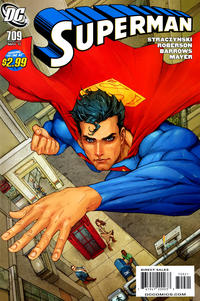 Cover Thumbnail for Superman (DC, 2006 series) #709 [10 for 1 Variant]