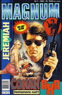 Cover Thumbnail for Magnum (Bladkompaniet, 1988 series) #7/1992