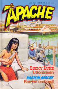 Cover Thumbnail for Apache (Semic, 1980 series) #5/1981