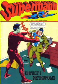 Cover Thumbnail for Supermann (Semic, 1977 series) #6/1977