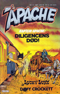 Cover Thumbnail for Apache (Semic, 1980 series) #11/1981