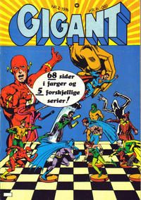 Cover Thumbnail for Gigant (Illustrerte Klassikere / Williams Forlag, 1969 series) #2/1976