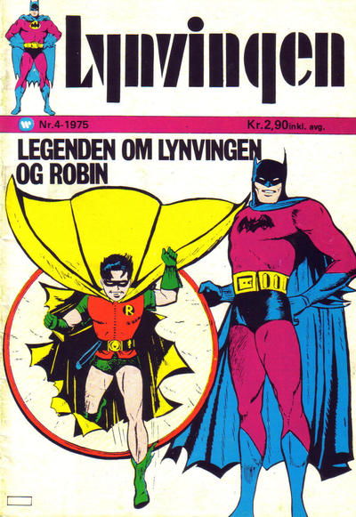 Cover for Lynvingen (1969 series) #4/1975