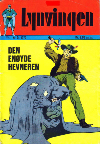 Cover for Lynvingen (Williams Forlag, 1969 series) #9/1970