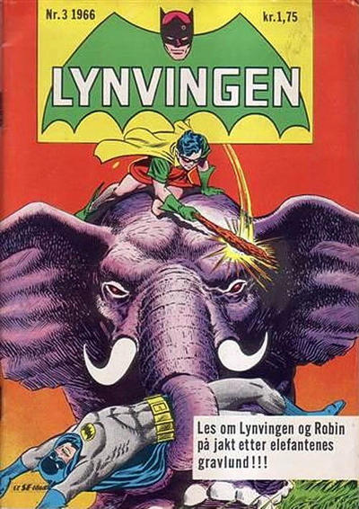 Cover for Lynvingen (1966 series) #3/1966