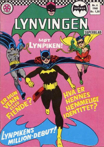 Cover for Lynvingen (Se-Bladene - Stabenfeldt, 1966 series) #6/1968