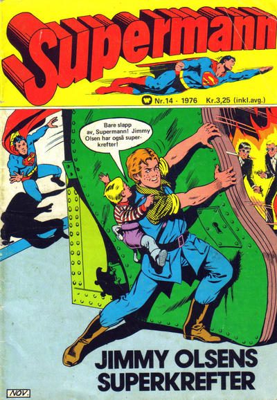 Cover for Supermann (Illustrerte Klassikere / Williams Forlag, 1969 series) #14/1976