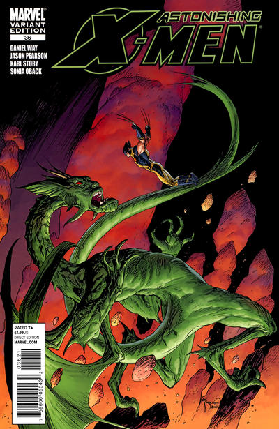 Cover for Astonishing X-Men (Marvel, 2004 series) #36
