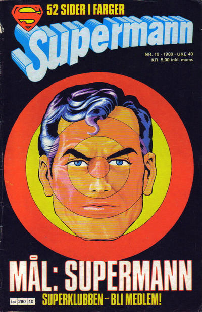 Cover for Supermann (1977 series) #10/1980
