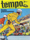 Cover for Tempo (Hjemmet, 1966 series) #1/1966