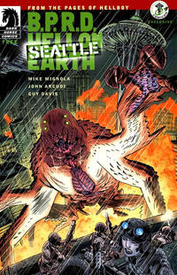 Cover Thumbnail for B.P.R.D. Hell on Earth Seattle (Dark Horse, 2011 series)