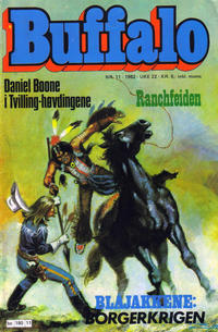 Cover Thumbnail for Buffalo (Semic, 1982 series) #11/1982