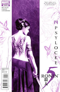 Cover Thumbnail for 5 Ronin (Marvel, 2011 series) #4