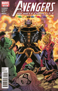 Cover Thumbnail for Avengers & the Infinity Gauntlet (Marvel, 2010 series) #2