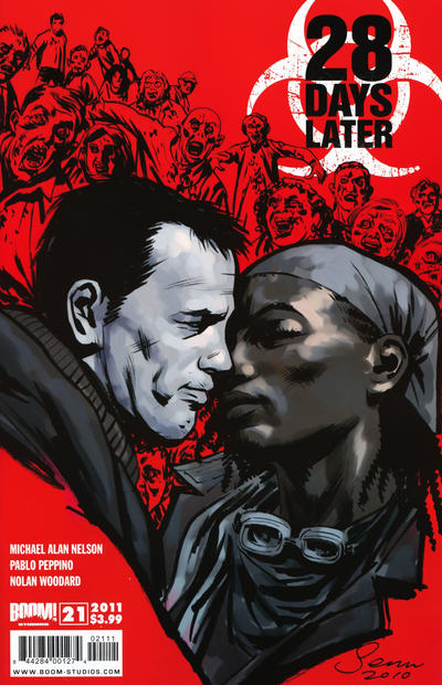 Cover for 28 Days Later (Boom! Studios, 2009 series) #21