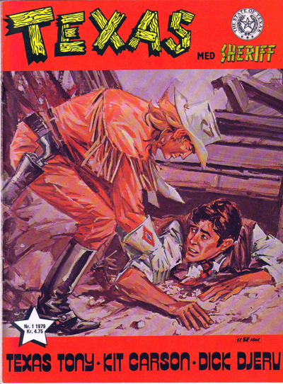 Cover for Texas med Sheriff (Se-Bladene, 1976 series) #1/1979