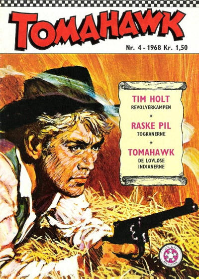 Cover for Tomahawk (Se-Bladene, 1965 series) #4/1968