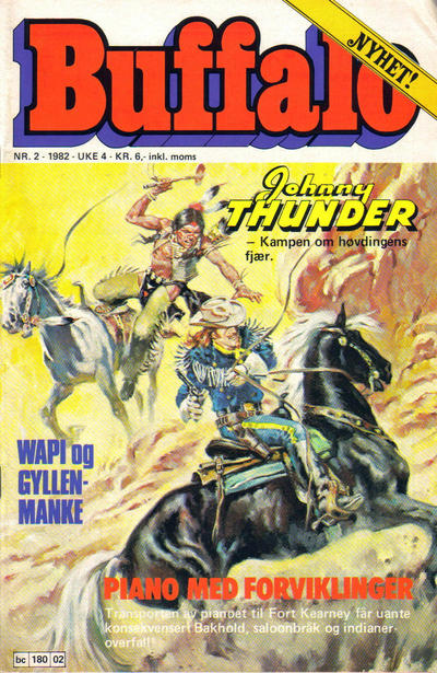 Cover for Buffalo (Semic, 1982 series) #2/1982