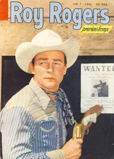 Cover for Roy Rogers (Se-Bladene, 1955 series) #7/1956