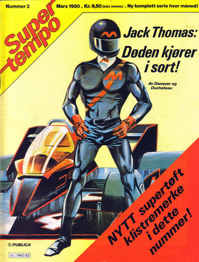 Cover for Supertempo (1979 series) #3/1980