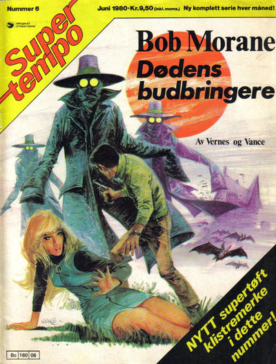 Cover for Supertempo (1979 series) #6/1980
