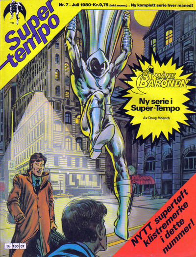 Cover for Supertempo (Hjemmet, 1979 series) #7/1980