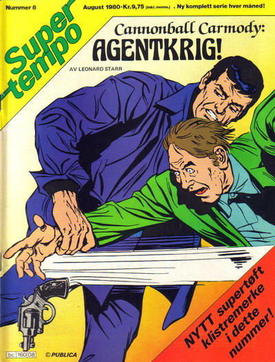 Cover for Supertempo (Hjemmet, 1979 series) #8/1980