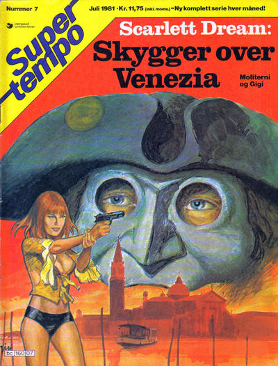 Cover for Supertempo (Hjemmet / Egmont, 1979 series) #7/1981