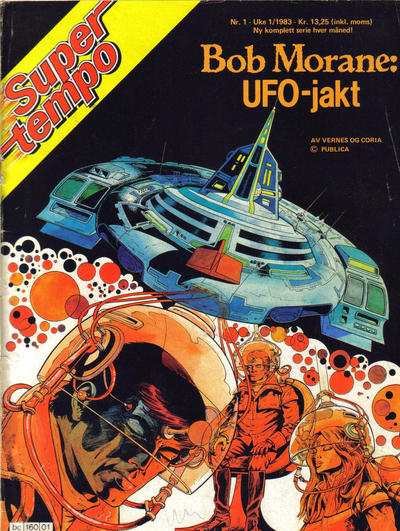 Cover for Supertempo (Hjemmet, 1979 series) #1/1983