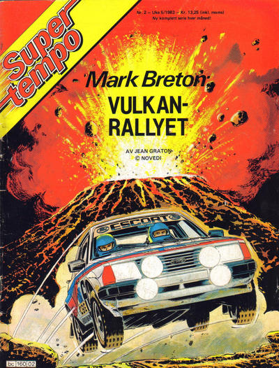 Cover for Supertempo (Hjemmet / Egmont, 1979 series) #2/1983