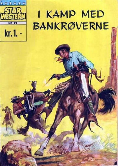 Cover for Star Western (1964 series) #21