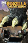 Cover Thumbnail for Godzilla: Kingdom of Monsters (2011 series) #1 [Jetpack Comics Cover]