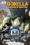 Cover Thumbnail for Godzilla: Kingdom of Monsters (2011 series) #1 [Happy Harbor Comics Cover]