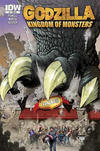 Cover Thumbnail for Godzilla: Kingdom of Monsters (2011 series) #1 [DCBS Cover]