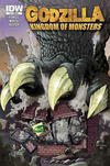 Cover Thumbnail for Godzilla: Kingdom of Monsters (2011 series) #1 [Comics on the Green Cover]