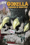 Cover Thumbnail for Godzilla: Kingdom of Monsters (2011 series) #1 [Clem&#39;s Collectibles Cover]
