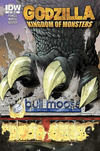 Cover Thumbnail for Godzilla: Kingdom of Monsters (2011 series) #1 [Bull Moose Cover]