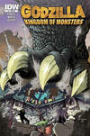 Cover Thumbnail for Godzilla: Kingdom of Monsters (2011 series) #1 [Alakazam!  Cover]