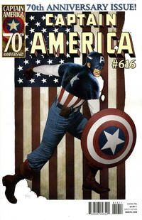 Cover Thumbnail for Captain America (Marvel, 2005 series) #616 [Direct Edition]