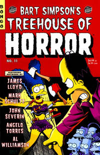 Cover Thumbnail for Treehouse of Horror (Bongo, 1995 series) #11